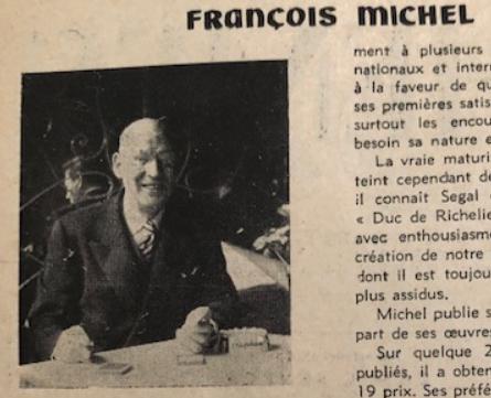 Francois michel