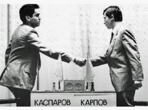 Karpov kasparov 1